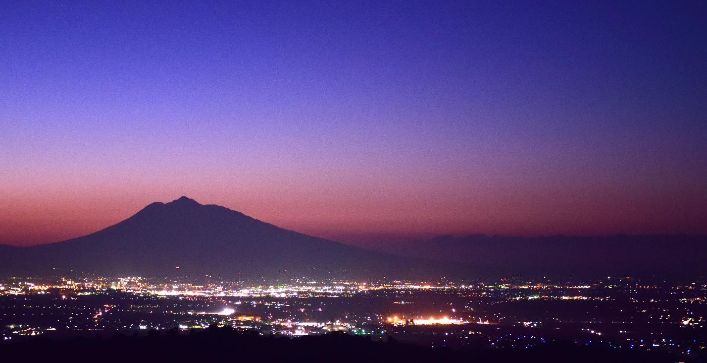 写真:志賀坊からの夕景